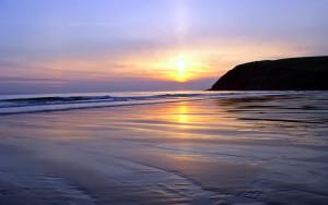 sunset-beach-footprint-widescreen-wallpaper-custom-images-sunsets-86084